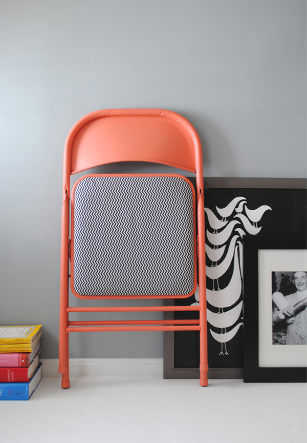 diy folded chair