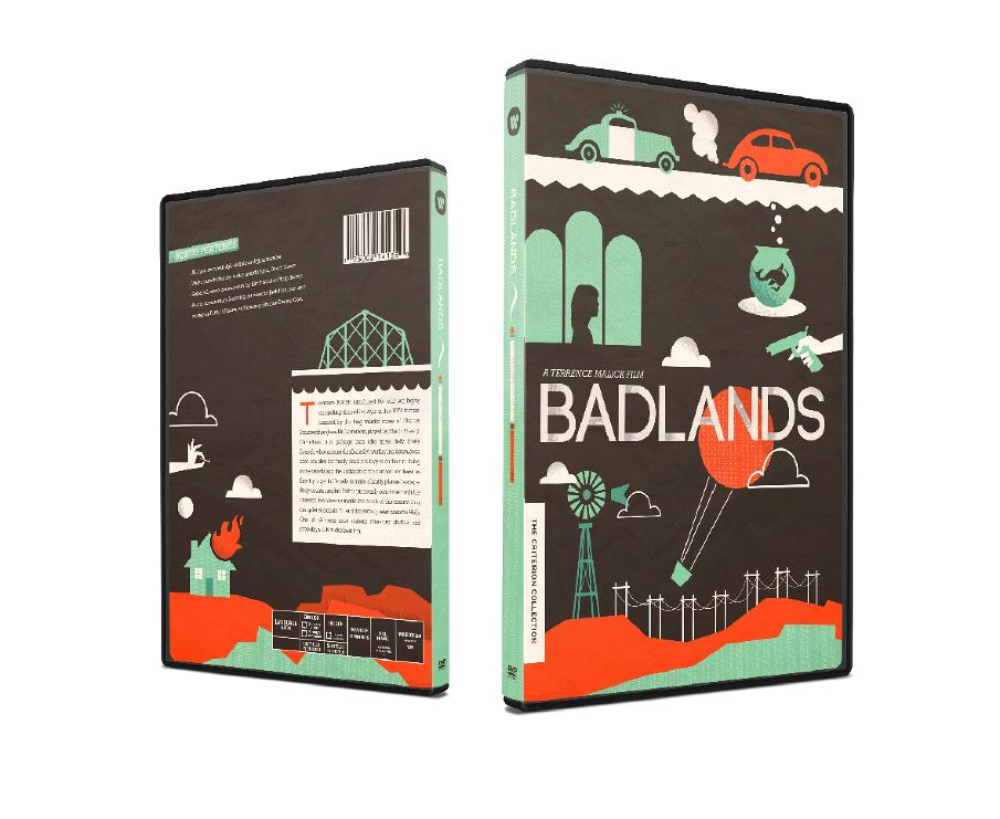 Badlands DVD Packaging - emilymullett